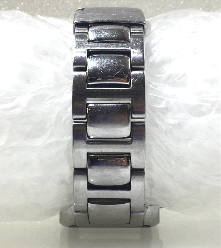 FOSSIL Arkitekt Stainless Steel Rectangular Face Men's Watch FS-4043