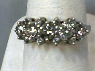 Lady's Diamond Fashion Ring 13 Diamonds .96 Carat T.W. 14K Yellow Gold 2dwt