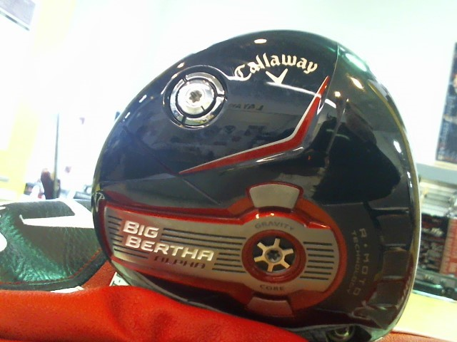 CALLAWAY Driver BIG BERTHA ALPHA 815