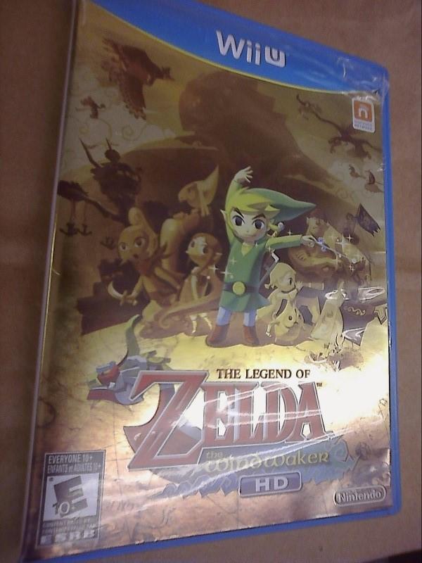 NINTENDO Wii U Game THE LEGEND OF ZELDA: THE WIND WAKER