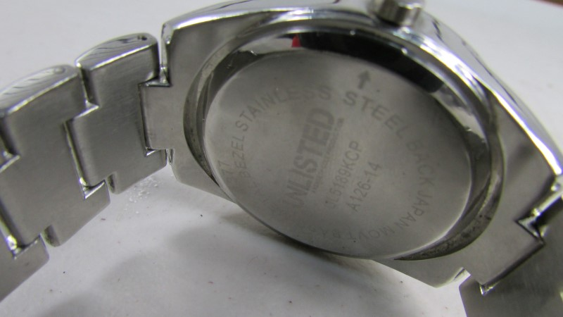 KENNETH COLE Gent's Wristwatch UNLISTED