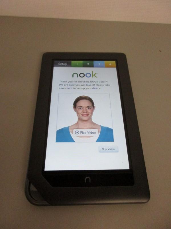 BARNES & NOBLE NOOK COLOR, BLACK, 8GB, WI-FI