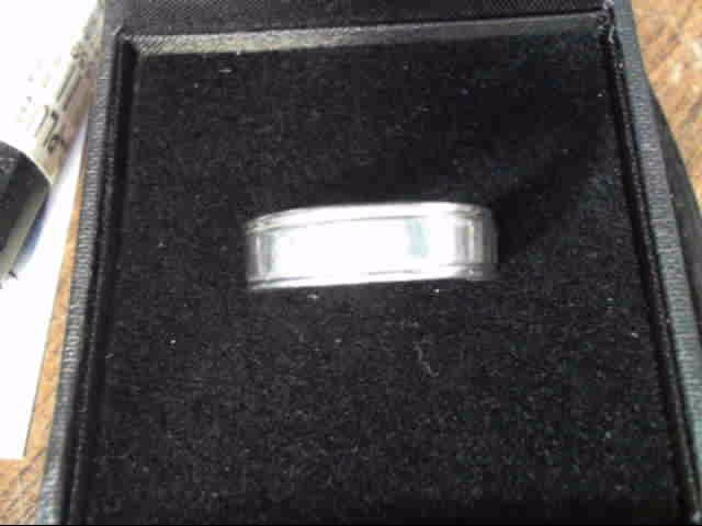 Gent's Ring Silver Stainless 4.5dwt