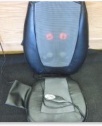 HOMEDICS SBM-200 SHIATSU THERAPIST SELECT BACK MASSAGING CUSHION MASSAGER