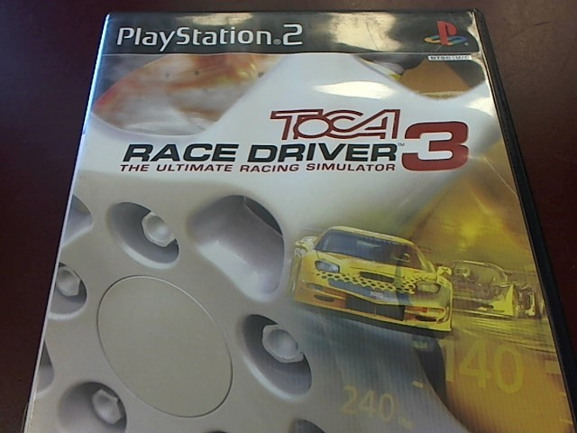 SONY PS2 TOCA RACE DRIVER 3