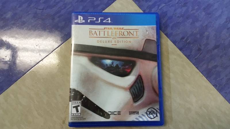 SONY PlayStation 4 STAR WARS BATTLEFRONT DELUXE EDITION GAME PS4
