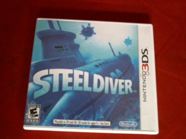 NINTENDO Nintendo 3DS Game STEELDIVER 3DS