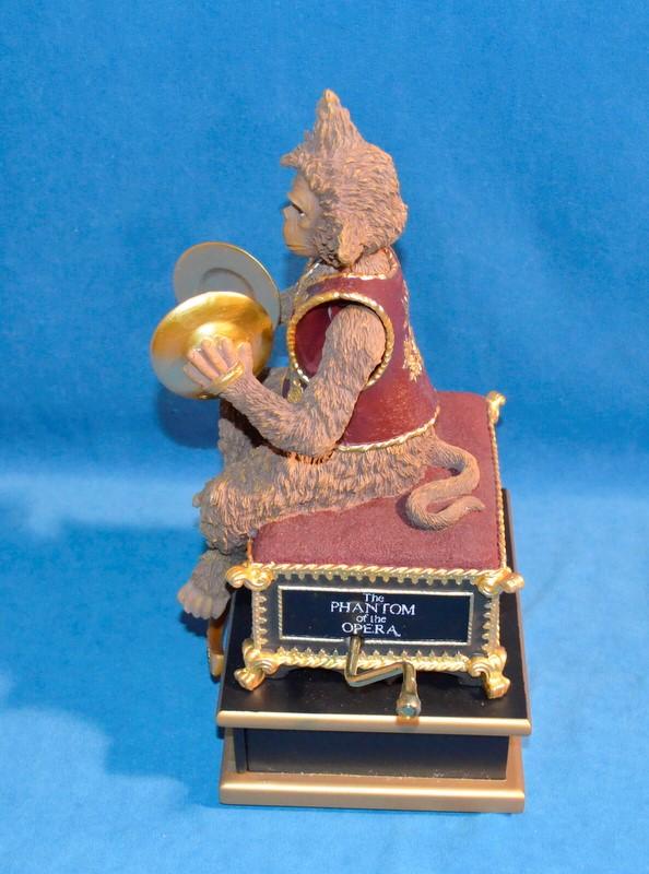 SAN FRANCISCO MUSIC BOX COMPANY Music Box PHANTOM MONKEY WITH CRANK