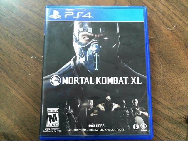 SONY Sony PlayStation 4 Game MORTAL KOMBAT XL PS4