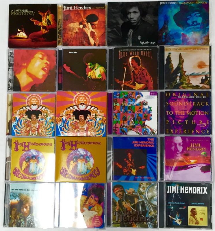 JIMI HENDRIX EXPERIENCE (20 ALBUMS)
