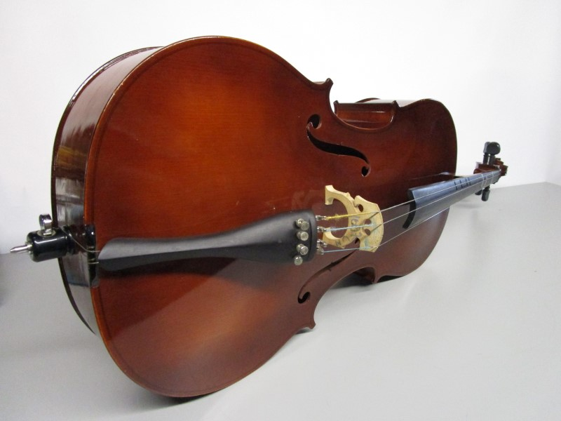 KARL REISER REICE44 CELLO OUTFIT, FULL SIZE, 4/4, LOCAL PICK-UP ONLY