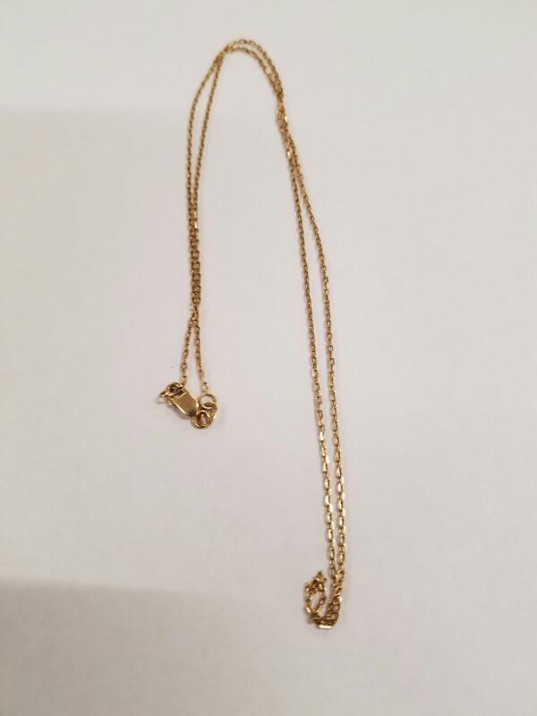 Gold Chain 14K Yellow Gold 2.3g
