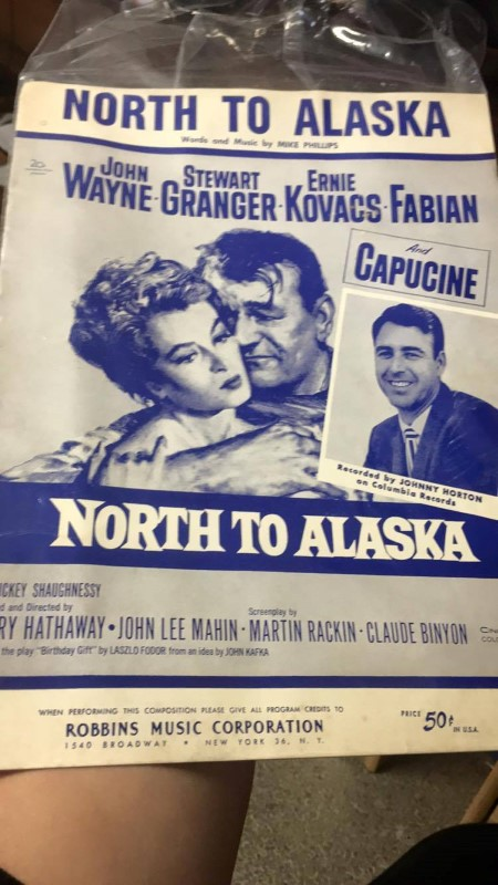 NORTH TO ALASKA WORKS AND MUSIC BY MIKE PHILLIPS