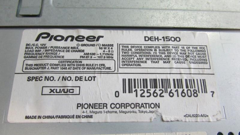 PIONEER ELECTRONICS SUPER TUNER III