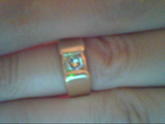Lady's Diamond Fashion Ring .30 CT. 14K Yellow Gold 5.3g