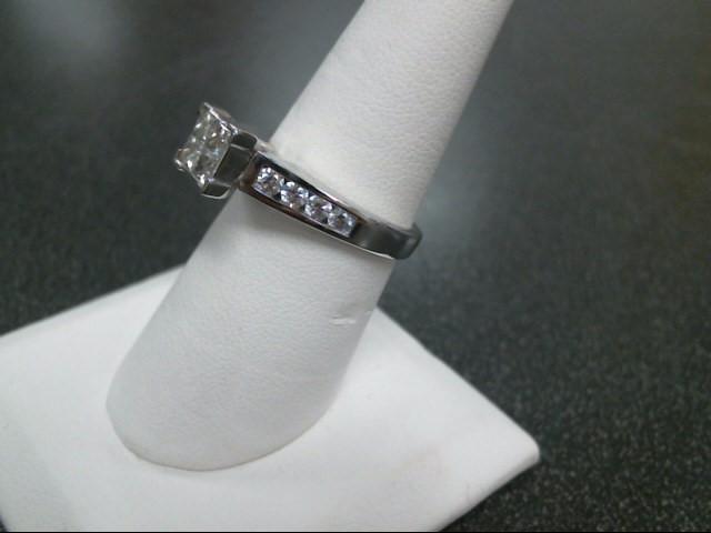 Lady's Diamond Fashion Ring 12 Diamonds 1.40 Carat T.W. 14K White Gold 5.1g