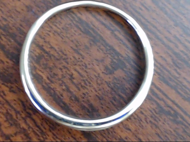 VINTAGE DIAMOND WED ANNIVER BAND SOLID REAL 10K WHITE GOLD SIZE 8.75