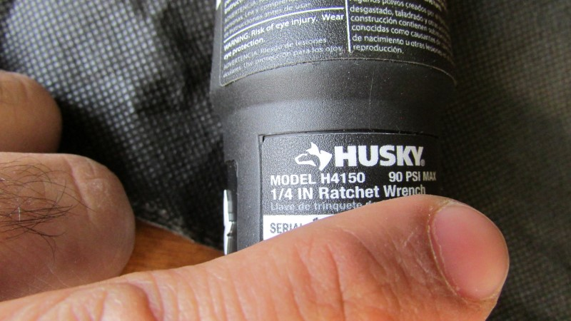 HUSKY Air Impact Wrench H-4150