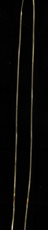 Gold Chain 14K Yellow Gold 0.9dwt