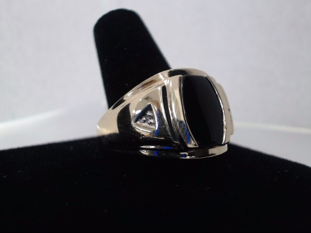 Gent's Gold Ring 10K Yellow Gold 3.6g