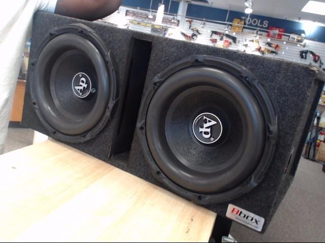 """AUDIO PIPE Car Speakers/Speaker System 12"""" BD3"""