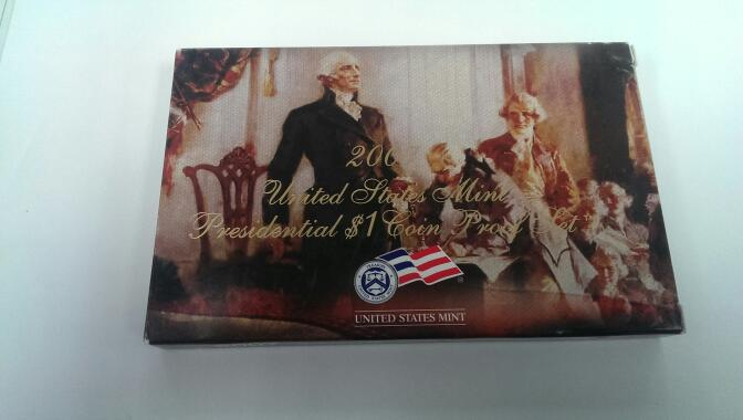 UNITED STATES 2007 PRESIDENTIAL $1 COIN PROOF SET