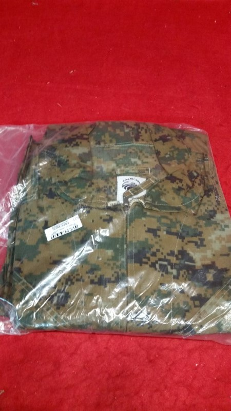 Large American Patriot Coverall Flight Suit - Green Marpat