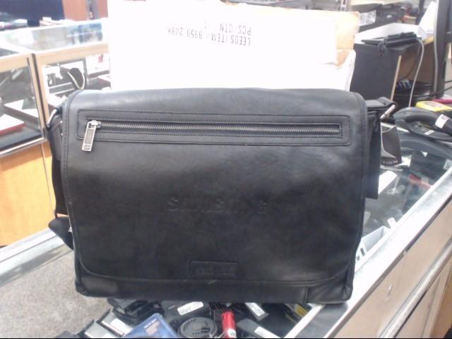 KENNETH COLE Handbag DOUBLE GUSSET LEATHER LAPTOP CASE