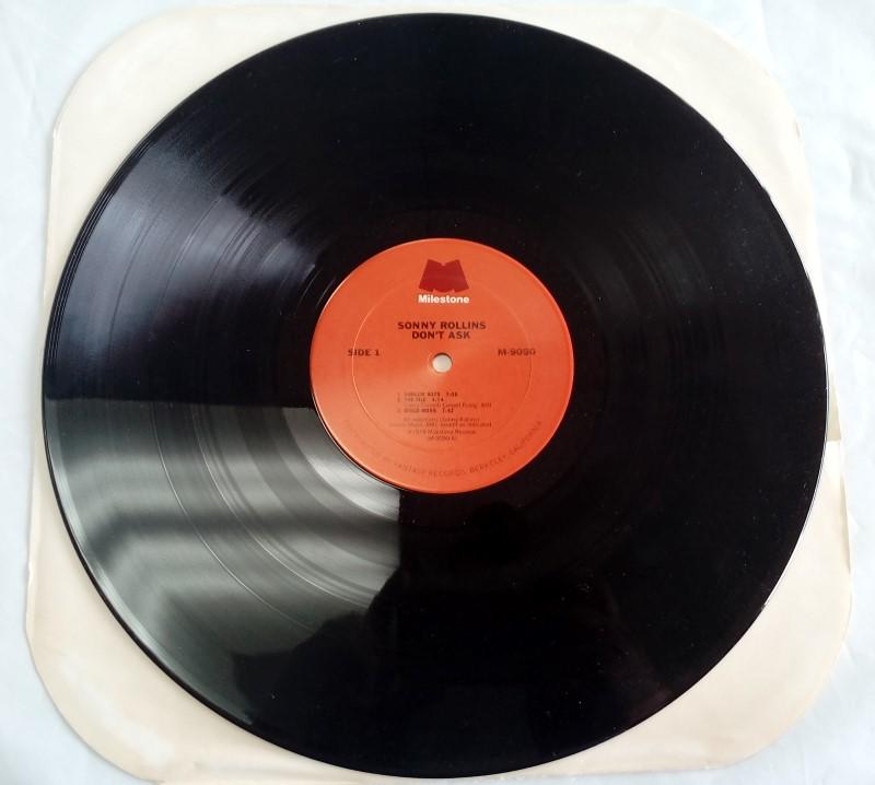 MILESTONE RECORDS SONNY ROLLINS DON'T ASK VINYL