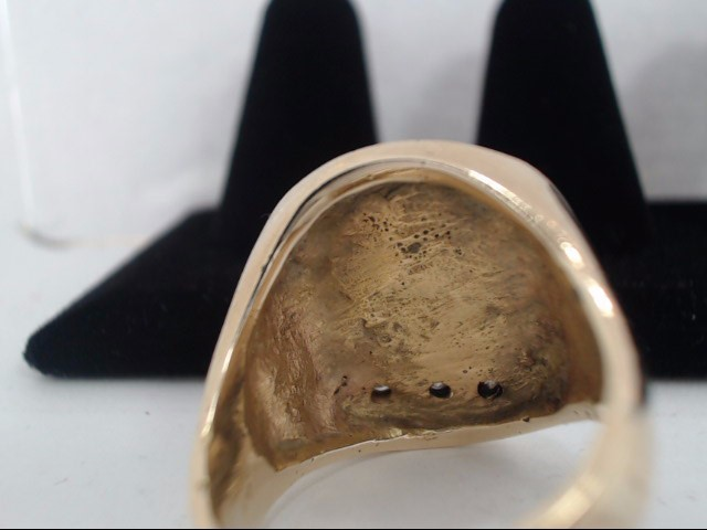 Gent's Gold Ring 14K Yellow Gold 14.3g