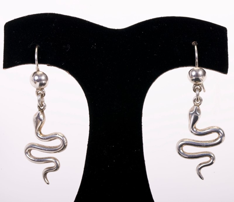 Lady's EARRINGS SILVER  925 18.5g