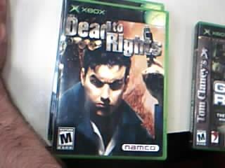 MICROSOFT Microsoft XBOX Game DEAD TO RIGHTS