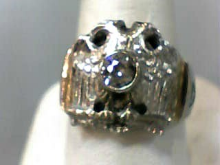 Gent's Diamond Solitaire Ring .50 CT. 10K Yellow Gold 5.2dwt Size:9