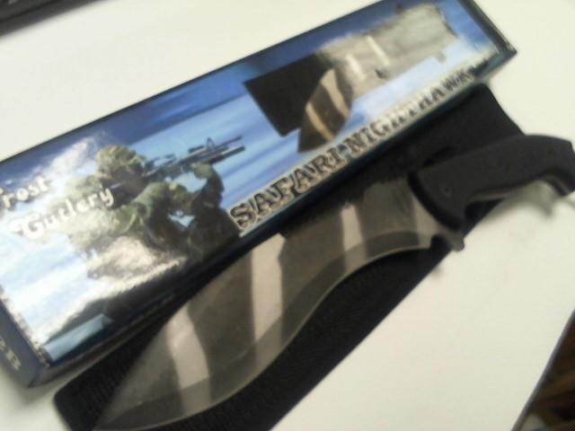 FROST CUTLERY Combat Knife SAFARI KNIGHTHAWK