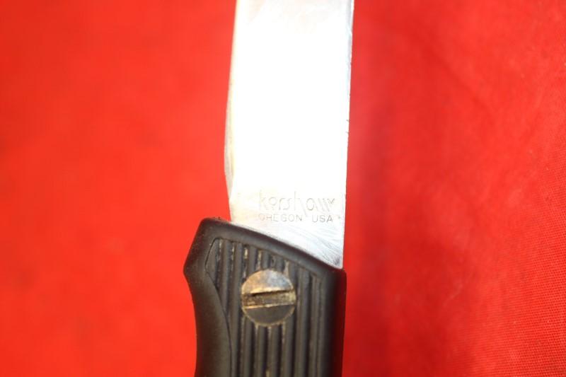 NM VINTAGE KERSHAW 1244TF JAPAN FOLDING FISH FILET HUNTER SURVIVAL KNIFE KNIVES