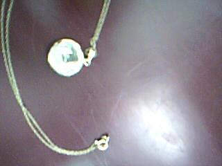 Gold Charm 14K Yellow Gold 2.6g