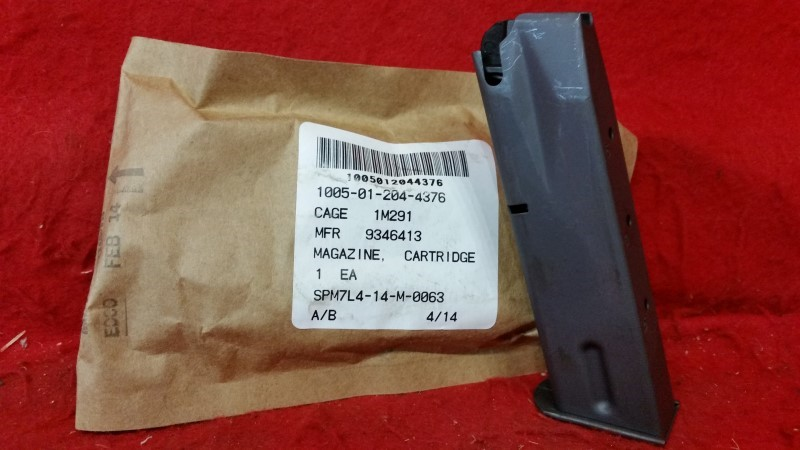 Beretta 92 M9 9mm 15rd GI USGI Magazine - 10 PACK