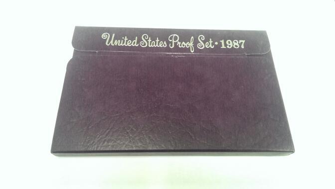 UNITED STATES 1987 PROOF SET