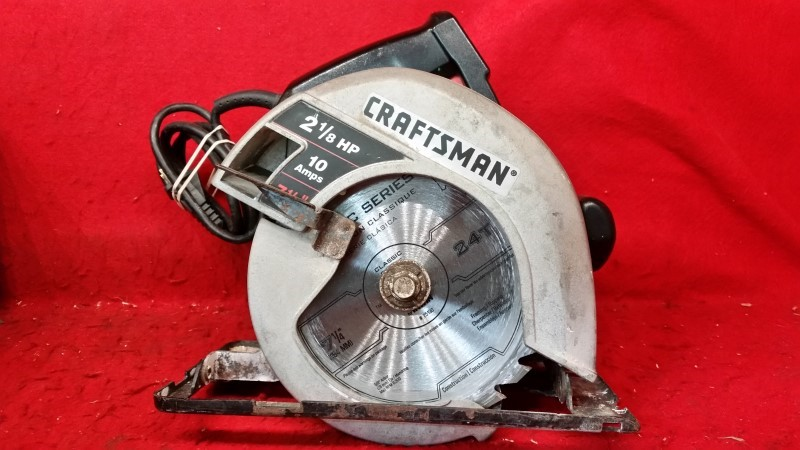 Craftsman 2-1/8 HP Circular Saw - 7.25""