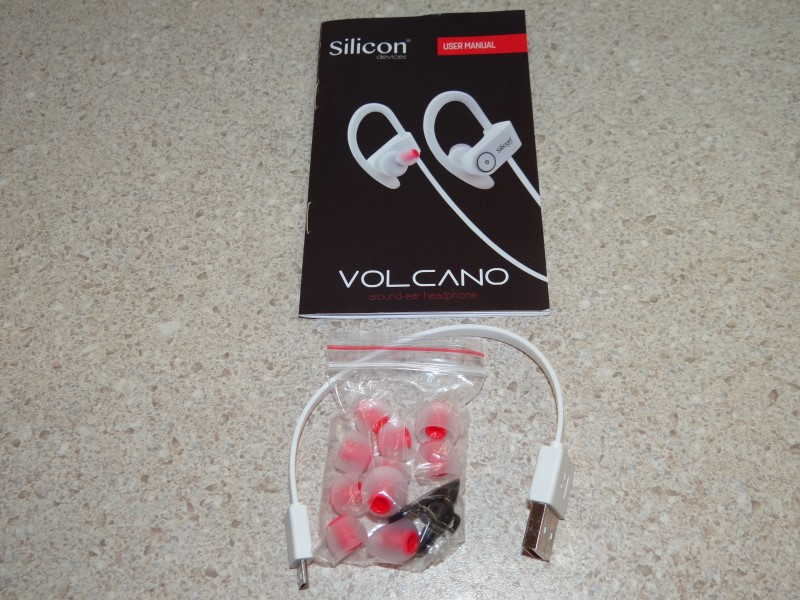 SILICON VOLCANO WIRELESS BLUETOOTH EARBUDS