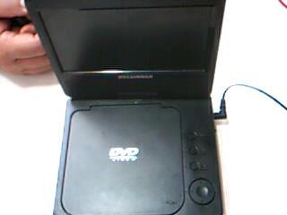 SYLVANIA Portable DVD Player PORTABLE DVD PLAYER SDVD7014