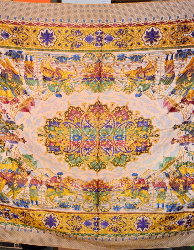 Decorative Indian Tapestry Wall Hanging Elephants Embroidered Decor