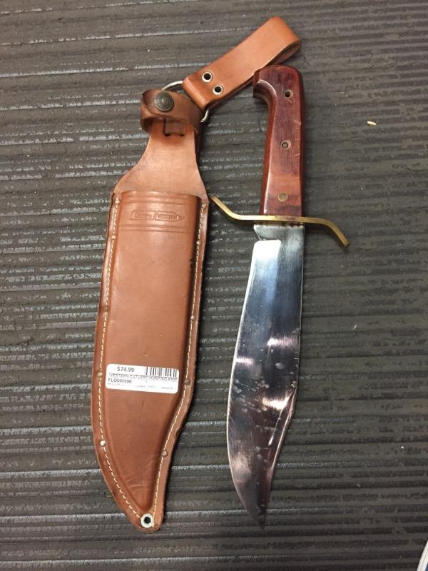 "WESTERN CUTLERY Hunting Knife BOWIE KNIFE W49 9.25"""