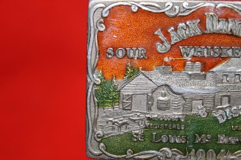 Rare Vintage Jack Daniels Whiskey Belt Buckle