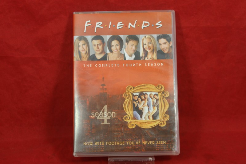 Friends - The Complete Fourth Season (DVD, 2010, 4-Disc Set)