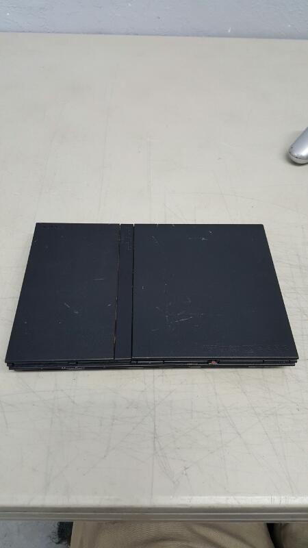 Sony PlayStation 2 Slim (SCPH-79001) PS2 Black Gaming Console