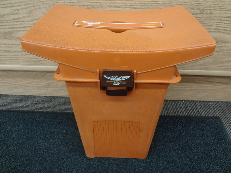 FENWICK WOODSTREAM SPORT SEAT 9050 VINTAGE FISHING TACKLE BOX CHAIR/STOOL SEAT