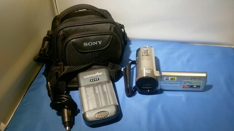SONY CAMCORDER MODEL DCR-SX85 CARL ZEIS COMPLETE