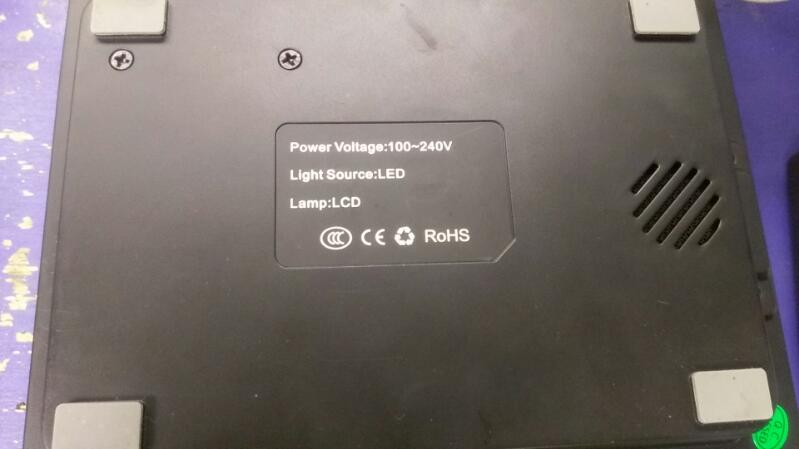 1000 Lumens 1080P Full HD Mini LED LCD Projector Home Cinema Theater