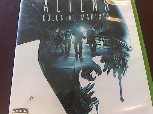 XBOX 360 ALIENS COLONIAL MARINES